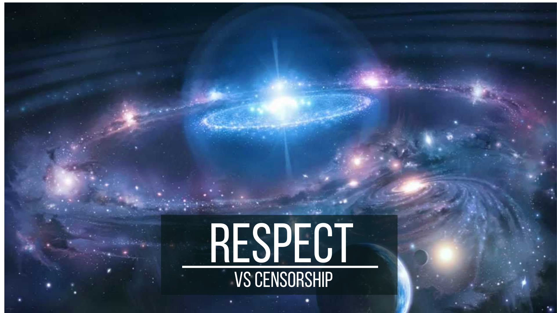 Respect vs Censorship